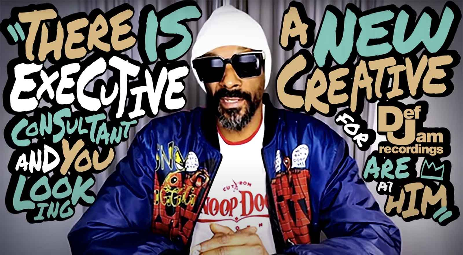 Snoop Dogg Joins Def Jam as Executive Creative Consultant